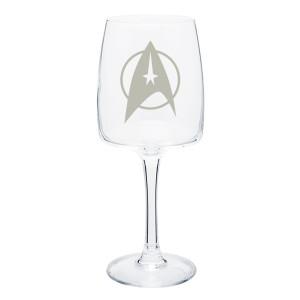 Star Trek The Original Series Delta Wine Glass