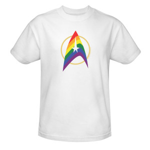 Star Trek The Original Series Pride Delta T-Shirt