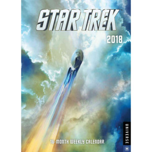 Star Trek 2018 Weekly Calendar