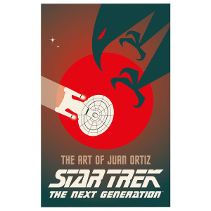 Star Trek the Next Generation: The Art of Juan Ortiz