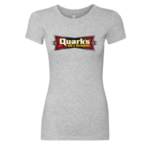 Star Trek Deep Space 9 Quark's Bar & Restaurant Women's Slim Fit T-Shirt