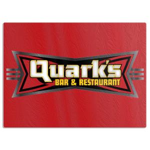 Star Trek Deep Space 9 Quark's Bar Glass Cutting Board
