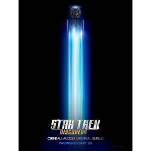 "Star Trek Discovery Ship Giclee Poster [18""x24""]"