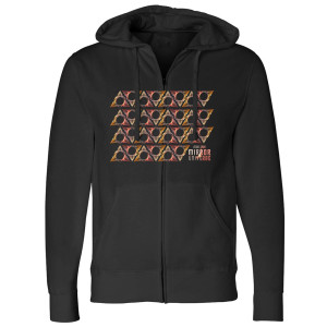 Star Trek Mirror Universe Triangle Zip Hoodie