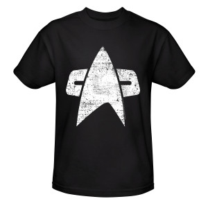 Star Trek Voyager Distressed Delta T-Shirt
