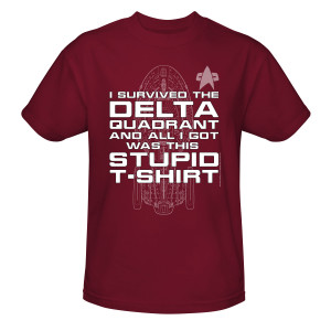 Star Trek Voyager Delta Quadrant T-Shirt