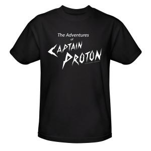 Star Trek Voyager Captain Proton T-Shirt