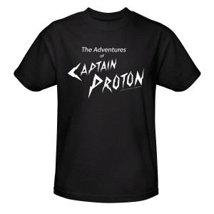Star Trek Voyager Captain Proton T-Shirt