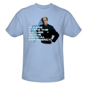 Star Trek Voyager Doctor Medical Emergency T-Shirt