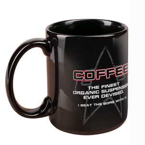 Star Trek Voyager Coffee Suspension 11oz. Mug