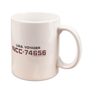 Star Trek Voyager Coffee Black 11oz. Mug