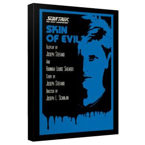 Star Trek The Next Generation Skin of Evil Canvas [12x18]