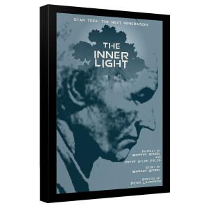 Star Trek The Next Generation The Inner Light Canvas [12x18]