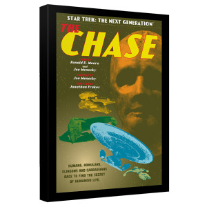 Star Trek The Next Generation The Chase Canvas [12x18]