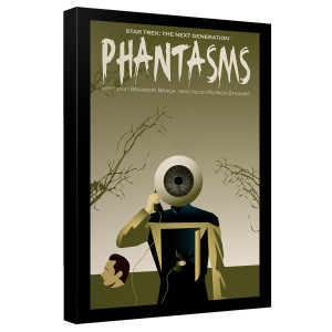 Star Trek The Next Generation Phantasms Canvas [12x18]