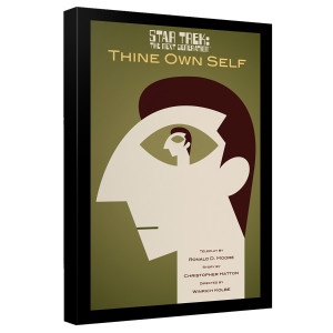 Star Trek The Next Generation Thine Own Self Canvas [12x18]