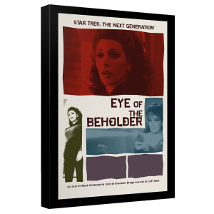 Star Trek The Next Generation Eye of the Beholder Canvas [12x18]