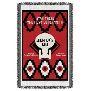 Star Trek The Next Generation Journey's End Woven Throw [36 x 58]