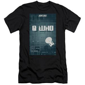 Star Trek The Next Generation Q Who T-Shirt