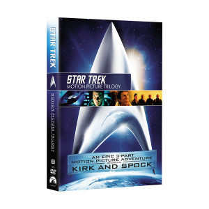 Star Trek: Motion Picture Trilogy DVD
