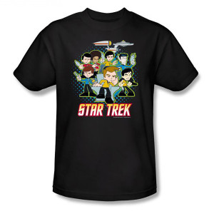 Star Trek Cartoon Crew T-Shirt