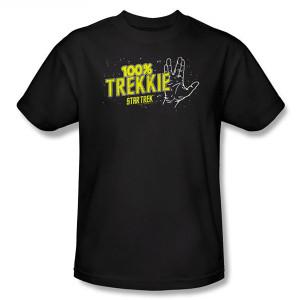 Star Trek 100% Trekkie T-Shirt