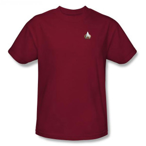 Star Trek TNG Command Uniform T-Shirt