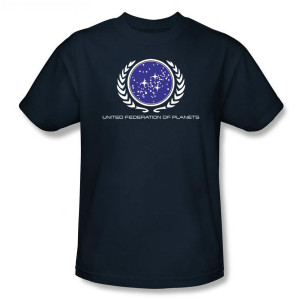 Star Trek United Federation Logo T-Shirt