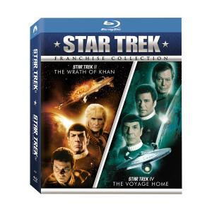 Star Trek II: The Wrath Of Khan / Star Trek IV: The Voyage Home (Double Feature) Blu-ray