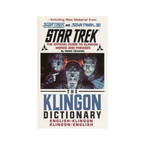 The Klingon Dictionary (Paperback) Book