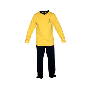 Star Trek Command Kirk Men's Pajama Set