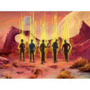 Star Trek The Original Series Landing Party Poster [18x24]