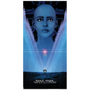 Star Trek: The Motion Picture Lithograph [12x24}