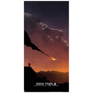 Star Trek III: The Search For Spock Lithograph [12x24]