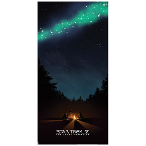 Star Trek V: The Final Frontier Lithograph [12x24]