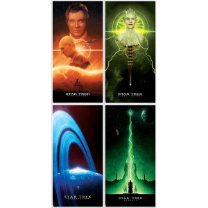 Star Trek The Next Generation Movie Posters [12x24] - Set of 4