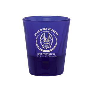 Star Trek Starfleet Academy 1.5 oz Shot Glass