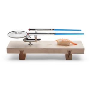 Star Trek Enterprise Sushi Set