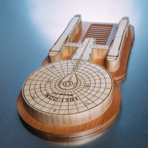 Star Trek Enterprise Cutting Board Set