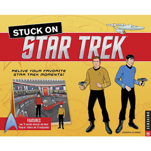 Stuck On Star Trek (Hardcover) Book