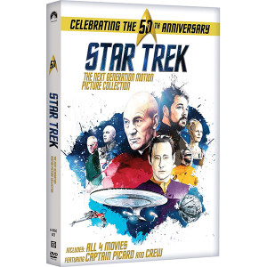 Star Trek: The Next Generation Motion Picture Collection (Repackage) DVD