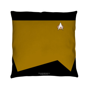Star Trek The Next Generation Engineering Pillow [16 x 16]