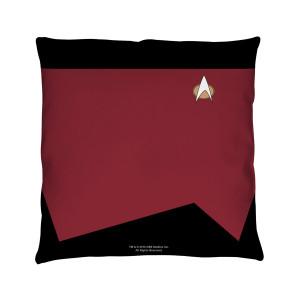 Star Trek The Next Generation Command Pillow [16 x 16]