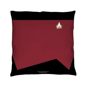 Star Trek The Next Generation Command Pillow [16 x 16]