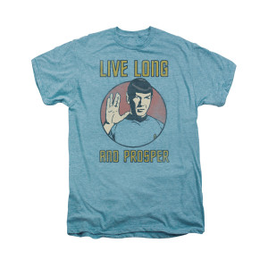 Star Trek Live Long And Prosper Vintage T-Shirt