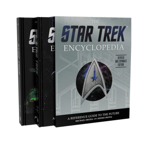 The Star Trek Encyclopedia: A Reference Guide to the Future (Hardcover) Book