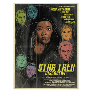 Star Trek Discovery Comic Poster