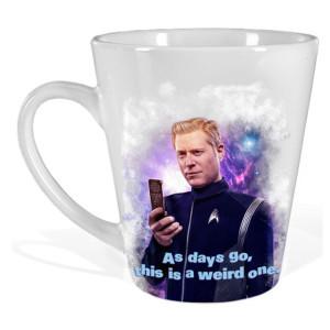 Star Trek Discovery Stamets Latte Mug