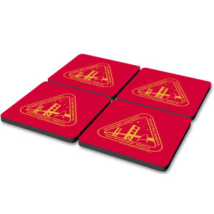 Star Trek Starfleet Academy Logo Coasters (Set of 4)
