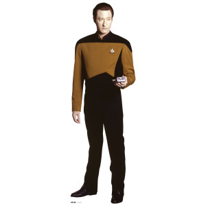 Star Trek Data Standee